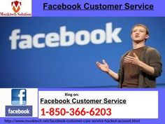 """Send email to Facebook Customer Service team Call 1-850-366-6203""""If you want to get rid of all your Facebook issues then you need to contact our Facebook Customer Service team who can be contacted by dialing 1-850-366-6203 and they will help you in the following manner:- • Do you want info on 'Recommendation' feature? • Round the clock availability. • Want to reactivate your Facebook account. For further information take a snap at…"""