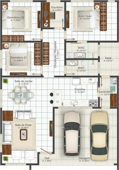 Casa moderna de 3 quartos                                                                                                                                                                                 Mais