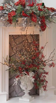 lighted twigs christmas decorations - Bing Images