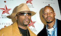 Nate Dogg and Warren G Nate Dogg, Warren G, Ties That Bind, G News, Singles Day, Music Artists, Growing Up, Musicals, Hip Hop