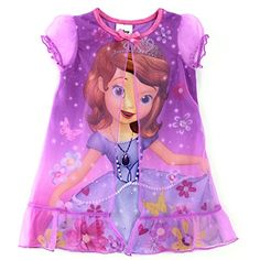 4113f88b42 Sofia the First Toddler Nightgown Pajamas (2T) Disney http   www.