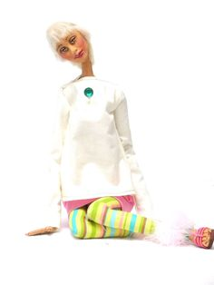 African American Ethnic Handmade Ooak Sculpted Artist Doll  #DollsbyFrancine