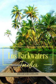 #India #Backwaters #Kerala Un recorrido de norte a Sur por los backwaters de Kerala, un oasis al sur de India.