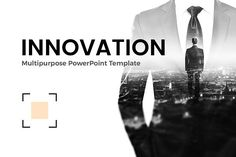 Business Innovation PowerPoint by Site2max on @creativemarket