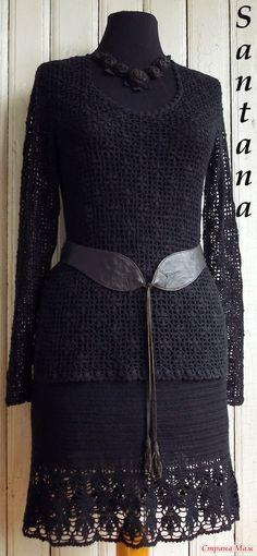 Кофточка и юбка из тонкой черной вискозы. Обсуждение на LiveInternet - Российский Сервис Онлайн-Дневников