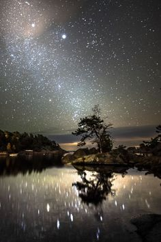 ~~October night ~ starry starry night by Tore Heggelund~~