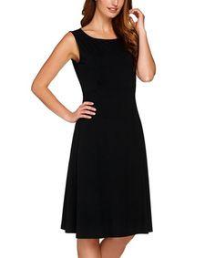 Love this Black Sleeveless Dress - Plus Too on #zulily! #zulilyfinds