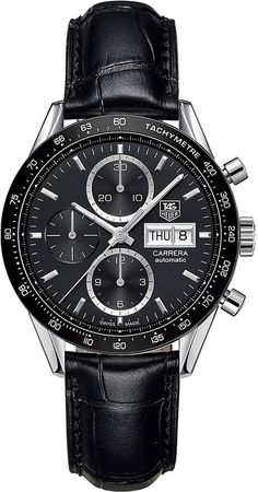 Tag Heuer CV201AGFC6266 Carrera Calibre 16 Day-Date Watch - for Men