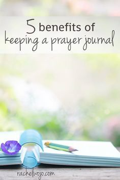 Need a little encouragement to begin writing out your prayers? Check out the benefits of keeping a prayer journal and be encouraged to get started or continue your prayer journaling!