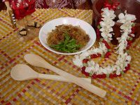 The Polynesian Kitchen: La`ai's Samoan Sapasui  Simple recipe, delicious dish.