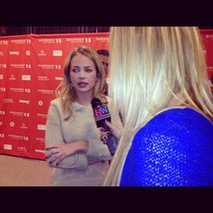Britt Robertson at Sundance 2012