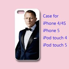 Daniel Craig  Skyfall 007  James Bond iphone 4 case by Colorcases, $14.99