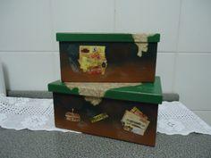 caixa de documentos podendo ser utilizada para guardar qualquer coisa que queira. Estas foram feitas sob encomenda