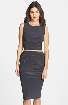 KAMALIKULTURE 'Teaser' Two-Piece Jersey Dress available at #Nordstrom