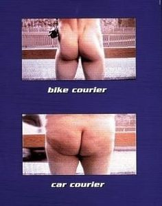 Bike Courier compared to Car Courier
