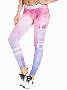 Galaxy Logo Tights