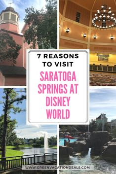 My family loved staying at Saratoga Springs hotel at Walt Disney World Resort in Orlando, Florida & you'll love it, too. We've reviewed hotel, showed pictures from our vacation & give you 7 reasons why this is a great hotel choice #WaltDisneyWorld #Orlando #Florida #familytravel #familytraveltips #familyvacation #familyvacationtips #Disneyvacation #Disneytips #Disneytrip #DisneyWorldResort #Floridatravel #hotelreview #LoveDisney #Disneyfamily #Disney #familytrip #familyholiday #vacation… Disney Vacation Club, Vacation Deals, Florida Vacation, Florida Travel, Disney Vacations, Vacation Trips, Vacation Travel, Family Travel, Arizona Travel
