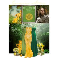 """""""Growing Strong - House Tyrell"""" by phreak on Polyvore"""