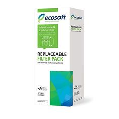 Ecosoft 5 Stage Reverse Osmosis Water Filter Cartridge Replacement
