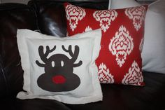 Rudolph the Red Nosed Reindeer Canvas by elevenonecreative on Etsy, $10.00