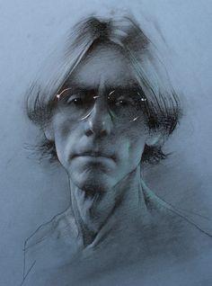 Daniel Sprick, Self-Portrait