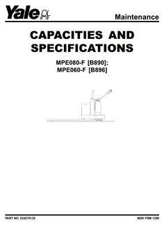 73 best yale instructions manual images on pinterest atelier rh pinterest com Yale GLP060 Specs 2000 Yale 6000 Lb Fork Lift