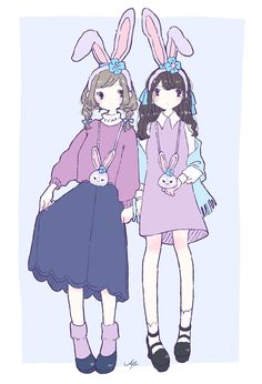 Kawaii Anime Girl, Anime Art Girl, Anime Outfits, Disney Outfits, Duffy The Disney Bear, Character Design Girl, Disney Fan Art, Cute Illustration, Outfits
