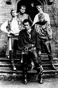 "Adam and the Ants was a new wave band during the late 1970s and early 1980s. It was one of the bands at the time that marked the transition from the '70s punk rock era to the new-wave post punk-music era. Although the band started off with a punk-influenced sound, it soon moved on to New Wave motivated by new sources such as the drum-heavy ""Burundi Beat"" heard on ""Dog Eat Dog""."