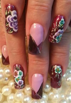 Something old is something new again! Something New, Nails Magazine, Nail Designs, The Incredibles, Nail Art, Wallpaper, Finger Nails, Recipes, Nail Design