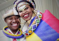 Ndebele attire African Traditional Wedding, Traditional Weddings, African Traditional Dresses, Traditional Outfits, African Love, African Design, African Beauty, African Attire, African Wear