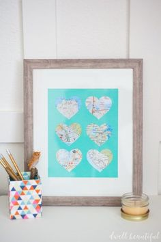 Create fun and beautiful map art to capture the memories of places you've been to or trips you've taken around the world. Fun travel art that you can make in mere minutes! A great wedding or gift idea.