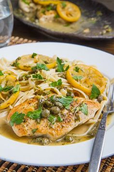 Yay, I've been looking for this Chicken Piccata recipe. Its Simply delicious, just enough lemon & caper flavor. I double the recipe because I like the extra sauce for the pasta.