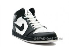 2f7da4b04ce Nike Air Jordan 1 (I) Retro Black   White Lastest DnDwrG