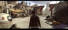 In-game footage of Visceral and Amy Hennig's Star Wars shown