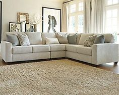 Comfortable Ashley Sectional Sofa Ideas For Living Room – Home Decor Ideas Oversized Couch Sectional, Ashley Sectional, Sofa Couch, Sofa Set, Sectional Sofas, White Sectional, Large Sectional, Living Room Remodel, Living Room Sofa