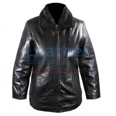 Leather Jacket With Fur Collar for $147.00 - https://www.leathercollection.com/en-we/jacket-with-fur-collar.html