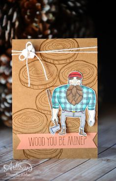 Stampin Up Artisan Blog Hop- Hey Handsome   Creations by Mercedes
