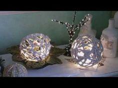 Beton giessen - DIY - Betonpilze mit Damenstrümpfen machen - YouTube