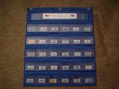 United States Pocket Chart Game - Enchanted Homeschooling Mom