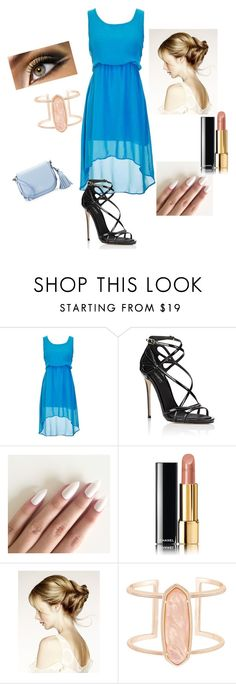 """Untitled #111"" by maya-03-b on Polyvore featuring Dolce&Gabbana, Chanel, Kendra Scott and Kate Spade"
