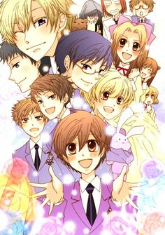 Ouran High School Host Club. I've been a fan of the anime for a long time and I just caved and read the manga too. Soooo cute!!!