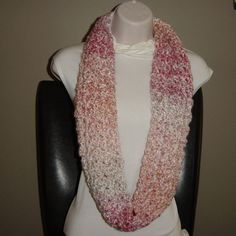 Infinity Scarf-Wrap by Nanabearcrocheted on Etsy