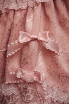 beauty and the beast < pink silk bows and lace Viktoryia Pink Silk, Lilac, Elizabeth Midford, Little Dorrit, School For Good And Evil, Princess And The Pauper, The Ancient Magus Bride, Princess Aesthetic, Trendy Dresses