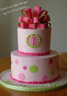 1st Birthday Cake by Creative Cake Designs (Christina), via Flickr