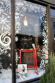 Image result for painted christmas windows