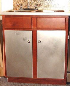 1000 images about cabinets doors and drawers on for Custom stainless steel cabinet doors