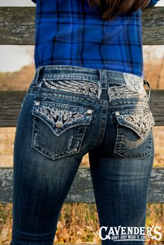 Miss Me Women's Jeans are online today at Cavender's. Shop for the best prices and selection on Miss Me Women's Jeans, and other top western brands. Love Jeans, Miss Me Jeans, Jeans Pants, Jeans And Boots, Denim Jeans, Skinny Jeans, Shorts, Bling Jeans, Cowgirl Jeans