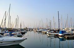 #harbor #Larnaca #Cyprus #boats
