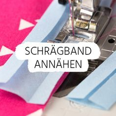 Sew on bias binding - Diy And Crafts Projects Sewing Hacks, Sewing Tutorials, Sewing Tips, Fabric Crafts, Sewing Crafts, Fat Quarter Projects, Diy Mode, Bias Binding, Bias Tape