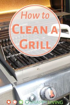 Check out our 12 tips for how to clean a grill, and keep it working safely and deliciously all year round. Once you've done the heavy duty cleaning, it's easy to keep it clean with light maintenance.